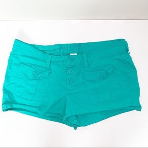ARIZONA JEANS | Blue Green Mini shorts